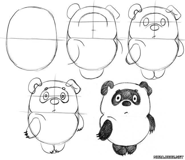рисунки карандашом фуры: